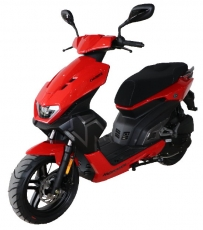 Motowell Darox, 45 km/h Version, Farbe: rot